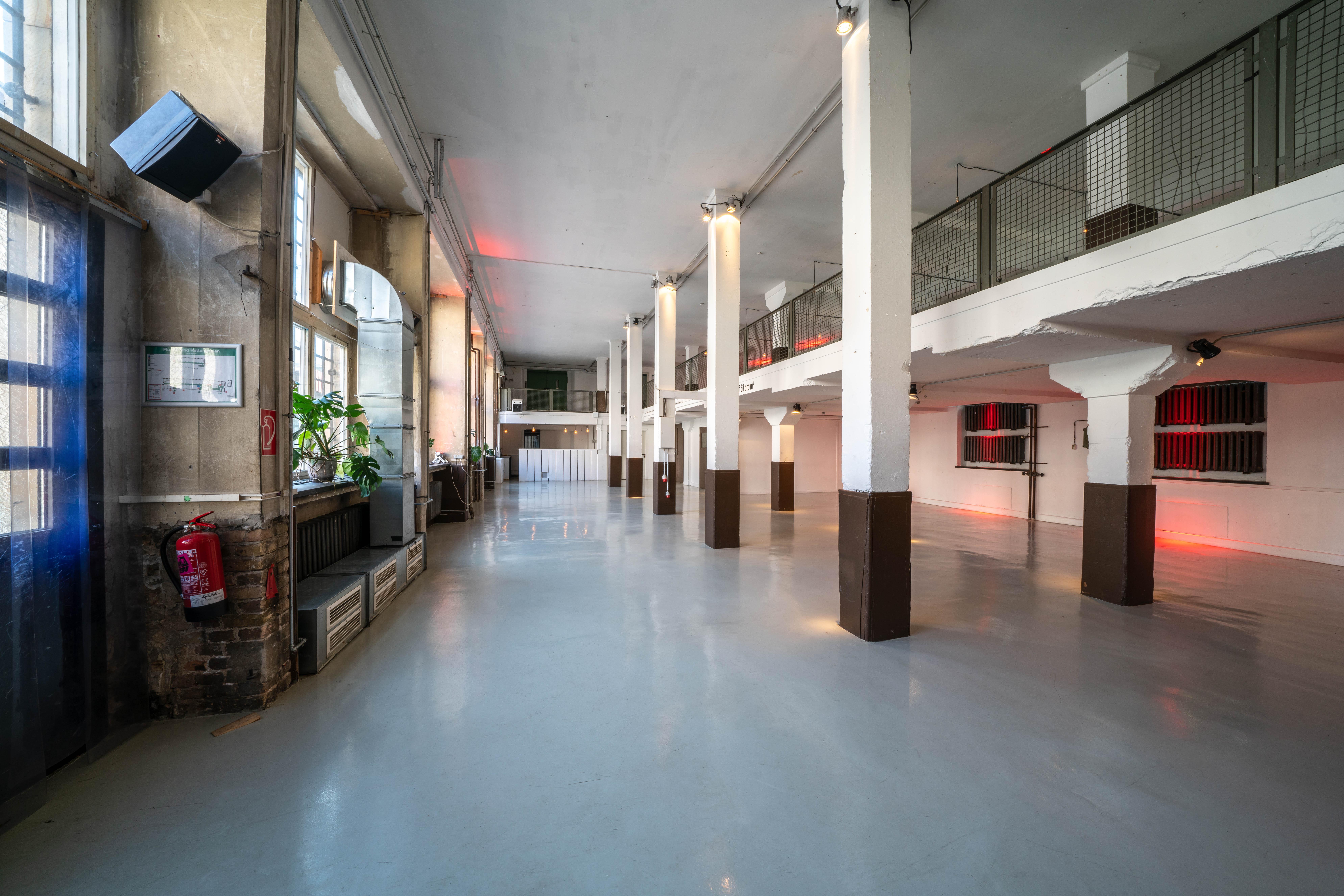 Galerie und Empore in der Alten Münze Berlin
