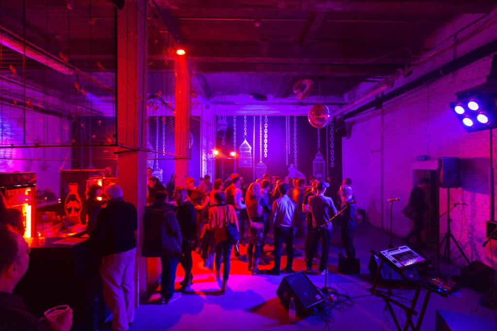 Cage Club in der alten Münze Berlin